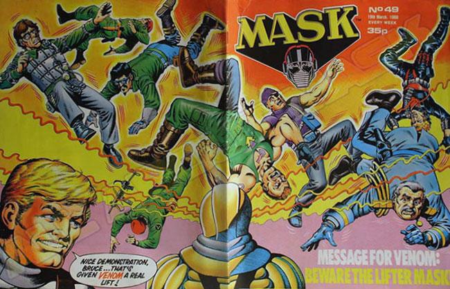 M.A.S.K. M.A.S.K. UK comic No. 49 - 19/03/1988