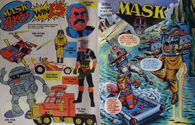 M.A.S.K. M.A.S.K. UK comic No. 51 - 02/04/1988