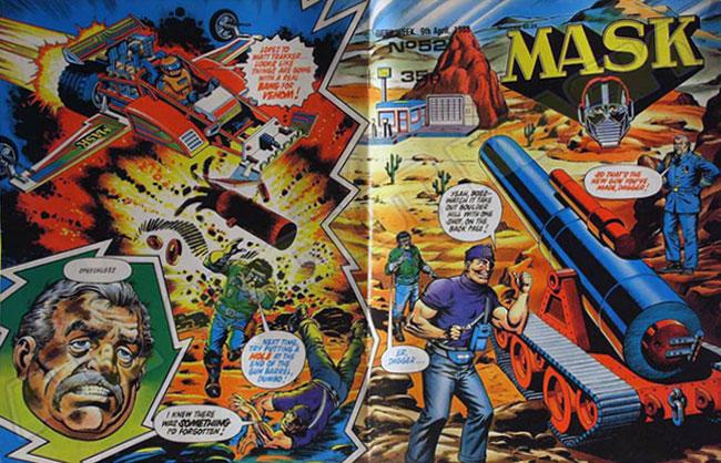 M.A.S.K. M.A.S.K. UK comic No. 52 - 09/04/1988
