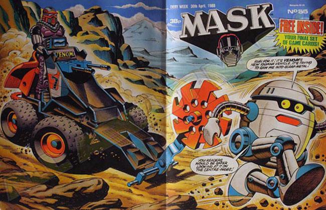 M.A.S.K. M.A.S.K. UK comic No. 55 - 30/04/1988