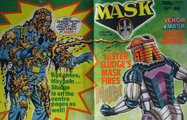 M.A.S.K. M.A.S.K. UK comic No. 58 - 21/05/1988