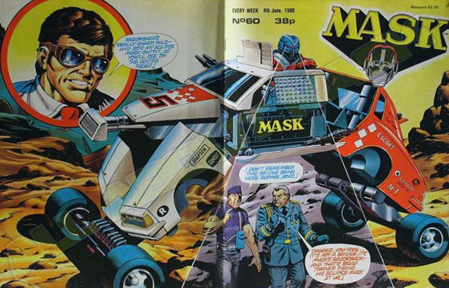 M.A.S.K. M.A.S.K. UK comic No. 60 - 04/06/1988