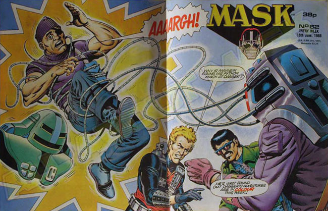 M.A.S.K. M.A.S.K. UK comic No.62 - 18/06/1988