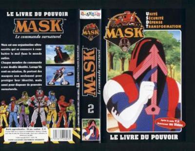 M.A.S.K. M.A.S.K. VHS France black no. 2