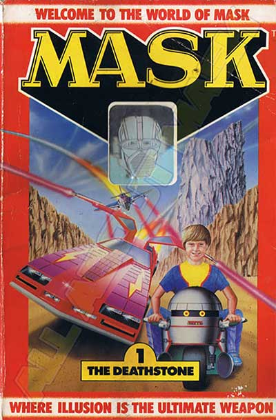 M.A.S.K. M.A.S.K. US Book no. 1 The deathstone