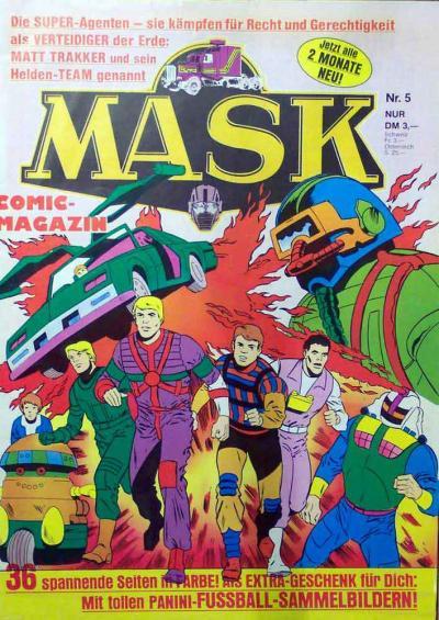 M.A.S.K. M.A.S.K. German comic no. 05