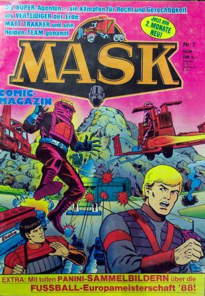 M.A.S.K. M.A.S.K. German comic no. 07