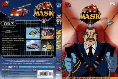 M.A.S.K. M.A.S.K. DVD Cover french disc 05 first edition