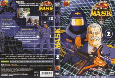 M.A.S.K. M.A.S.K. DVD Cover french disc 02