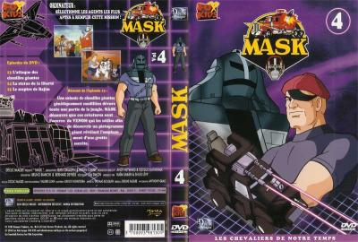 M.A.S.K. M.A.S.K. DVD Cover french disc 04