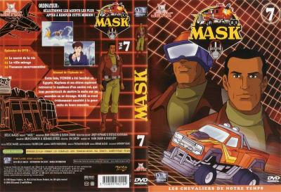 M.A.S.K. M.A.S.K. DVD Cover french disc 07