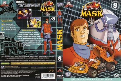 M.A.S.K. M.A.S.K. DVD Cover french disc 08