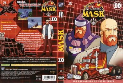 M.A.S.K. M.A.S.K. DVD Cover french disc 10