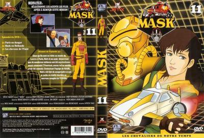 M.A.S.K. M.A.S.K. DVD Cover french disc 11