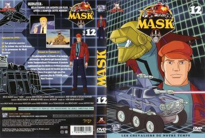 M.A.S.K. M.A.S.K. DVD Cover french disc 12