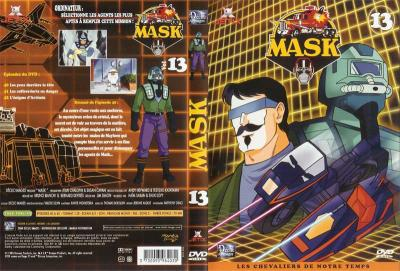 M.A.S.K. M.A.S.K. DVD Cover french disc 13