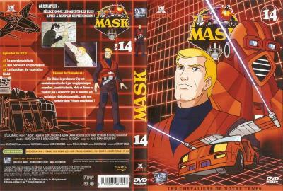M.A.S.K. M.A.S.K. DVD Cover french disc 14