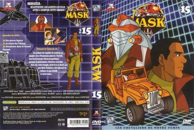 M.A.S.K. M.A.S.K. DVD Cover french disc 15