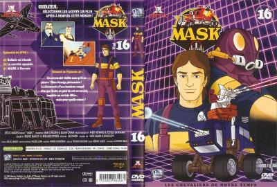 M.A.S.K. M.A.S.K. DVD Cover french disc 16