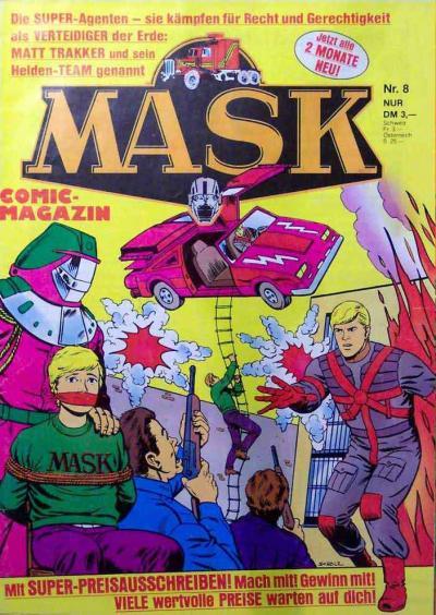 M.A.S.K. M.A.S.K. German comic no. 08