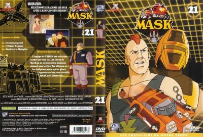 M.A.S.K. M.A.S.K. DVD Cover french disc 21