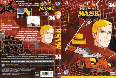 M.A.S.K. M.A.S.K. DVD Cover france disc 24