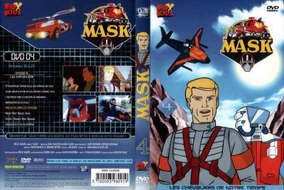 M.A.S.K. M.A.S.K. DVD Cover french disc 04 first edition