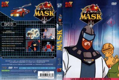 M.A.S.K. M.A.S.K. DVD Cover french disc 01 first edition