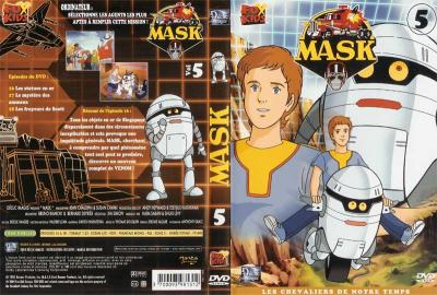 M.A.S.K. M.A.S.K. DVD Cover french disc 05