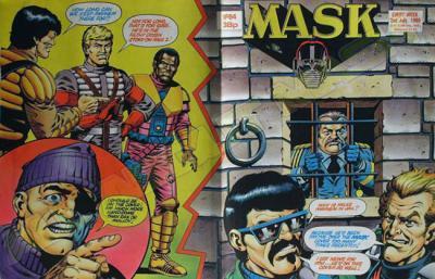 M.A.S.K. M.A.S.K. UK comic No. 64 - 02/07/1988