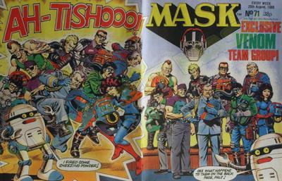M.A.S.K. M.A.S.K. UK comic No. 71 - 20/08/1988