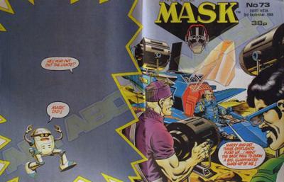 M.A.S.K. M.A.S.K. UK comic No. 73 - 03/09/1988