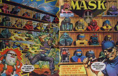 M.A.S.K. M.A.S.K. UK comic No. 74 - 10/09/1988