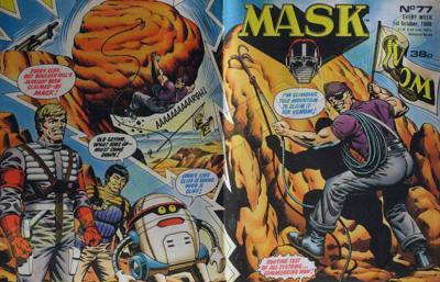 M.A.S.K. M.A.S.K. UK comic No. 77 - 01/10/1988