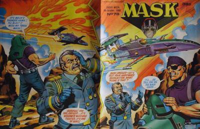 M.A.S.K. M.A.S.K. UK comic No. 78 - 08/10/1988
