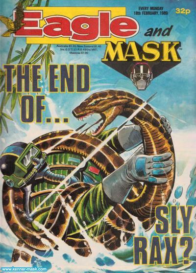 M.A.S.K. M.A.S.K. UK Eagle comic no. 361 - 18/02/1989