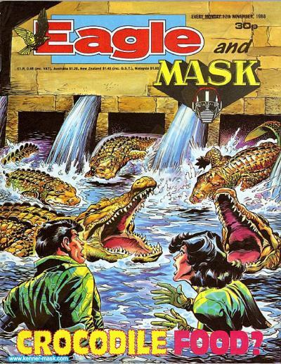 M.A.S.K. M.A.S.K. UK Eagle comic no. 347 - 12/11/1988