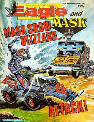 M.A.S.K. M.A.S.K. UK Eagle comic no. 352 - 17/12/1988