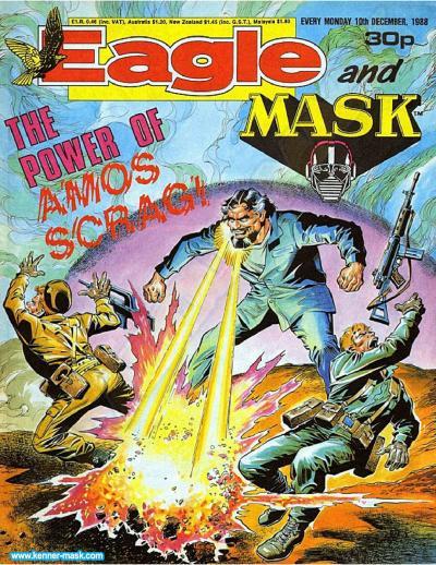 M.A.S.K. M.A.S.K. UK Eagle comic no. 351 - 10/12/1988