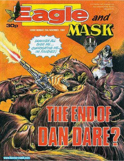 M.A.S.K. M.A.S.K. UK Eagle comic no. 349 - 26/11/1988
