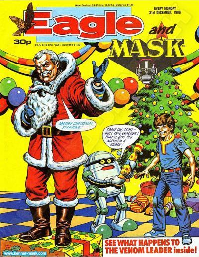 M.A.S.K. M.A.S.K. UK Eagle comic no. 354 - 31/12/1988