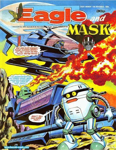 M.A.S.K. M.A.S.K. UK Eagle comic no. 348 - 19/11/1988