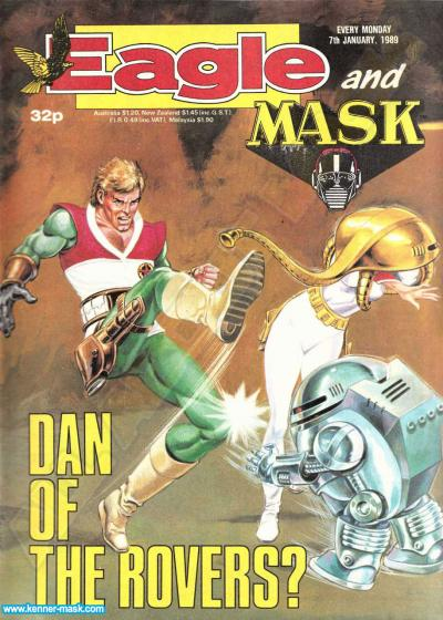 M.A.S.K. M.A.S.K. UK Eagle comic no. 355 - 07/01/1989