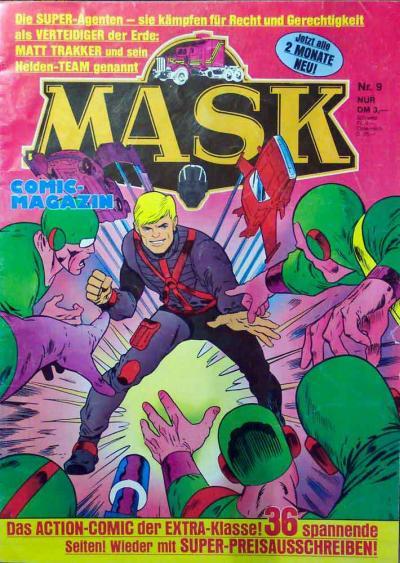 M.A.S.K. M.A.S.K. German comic no. 09