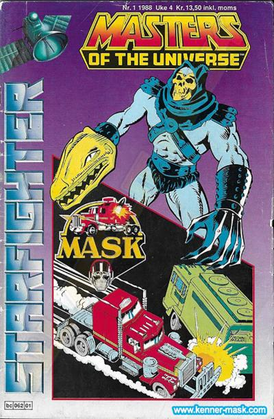 M.A.S.K. M.A.S.K. Norwegian Starfighter comic 1988 no. 1