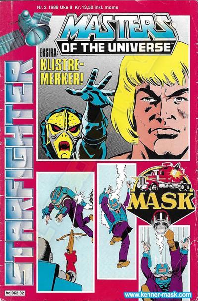 M.A.S.K. M.A.S.K. Norwegian Starfighter comic 1988 no. 2