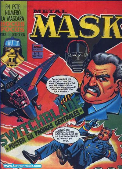 M.A.S.K. M.A.S.K. Spanisch MC Ediciones comic 1987 no. 2