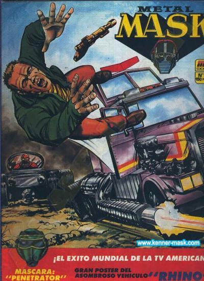 M.A.S.K. M.A.S.K. Spanisch MC Ediciones comic 1987 no. 3