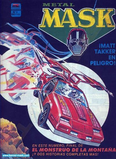 M.A.S.K. M.A.S.K. Spanisch MC Ediciones comic 1987 no. 4