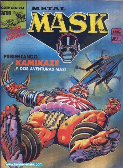 M.A.S.K. M.A.S.K. Spanisch MC Ediciones comic 1987 no. 5